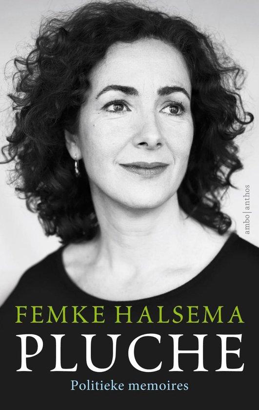 Boek cover Pluche van Femke Halsema
