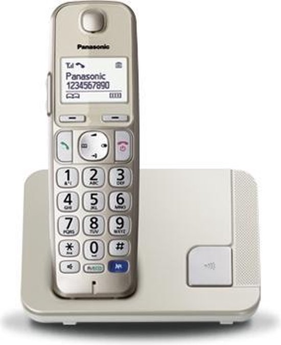 Panasonic KX-TGE210 - Single DECT telefoon - Grijs