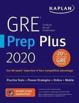 Boek cover GRE Prep Plus 2020 van Kaplan Test Prep