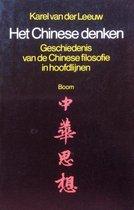 Boek cover Het chinese denken van Karel van der Leeuw