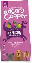 Edgard & Cooper Verse Hert & Scharreleend Adult - Hondenvoer - 7kg
