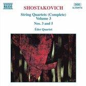 Shostakovich: String Quartets Vol 3 / eder Quartet