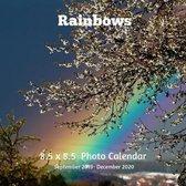 Rainbows 8.5 X 8.5 Calendar September 2019 -December 2020