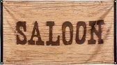 Cowboy Vlag Saloon 150x90cm