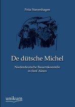 Boek cover De dutsche Michel van Fritz Stavenhagen
