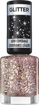 Rimmel London Glitter Low Coverage nagellak - Pink - Pink