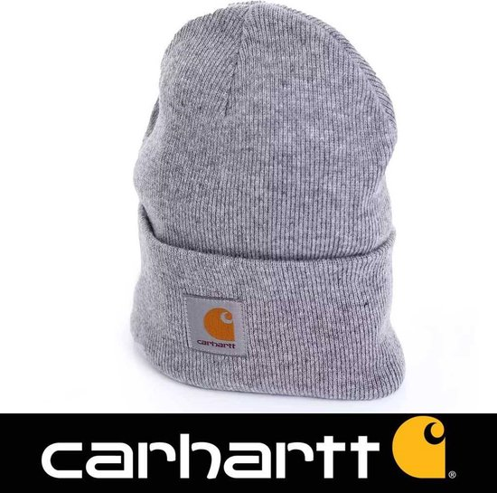 Carhartt Muts Acryl Watch Hat Unisex - Grijs - One Size - Carhartt