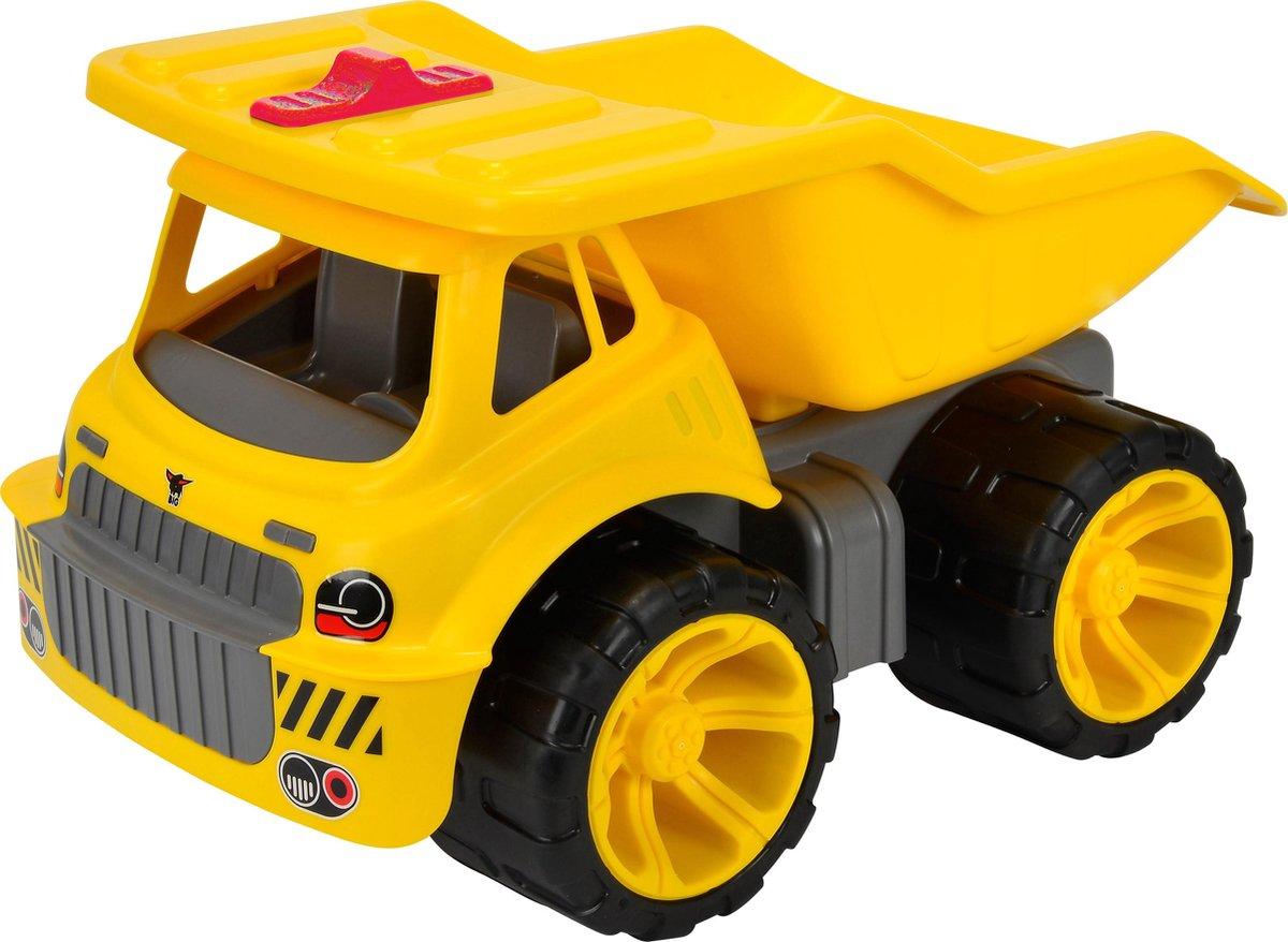 BIG Power Worker Maxi Truck - Speelgoedvoertuig - Kiepwagen - Geel