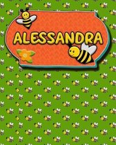 Handwriting Practice 120 Page Honey Bee Book Alessandra