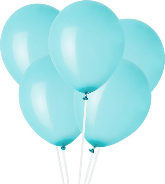 Ballonnen Lichtblauw (10st) Perfect Basics House Of Gia