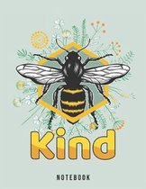 Bee Kind Notebook