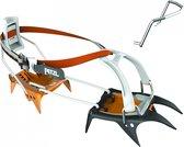 Petzl Irvis Hybrid LLU stijgijzers grijs/oranje