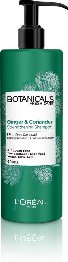 L'Oréal Paris Botanicals Coriander Strength Source Shampoo - 400 ml - Kwestbaar Haar