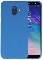 Bestcases Telefoonhoesje Samsung Galaxy A6 (2018) - Navy
