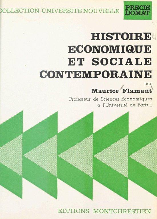 Histoire économique et sociale contemporaine