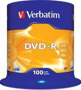 """Verbatim DVD-R AZO 4,7GB 16X SP MATT SILVER - Rohling"""