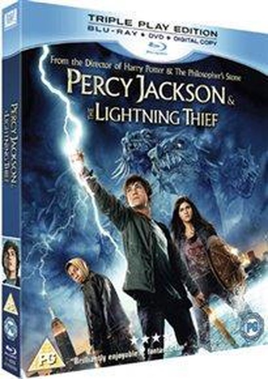 Cover van de film 'Percy Jackson & The..'