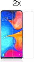 Samsung A20e Screenprotector Glas - 2x Samsung Galaxy A20e Screen Protector Glas