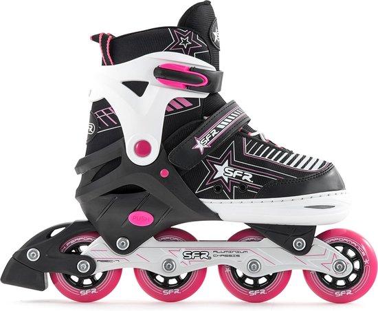 SFR Pulsar Verstelbare Inline Skate Junior Inlineskates - Maat 35,5 -39,5 - Unisex