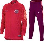 Nike Dry Barcelona Trainingspak Junior  Trainingspak - Maat 152  - Unisex - rood/donkerrood