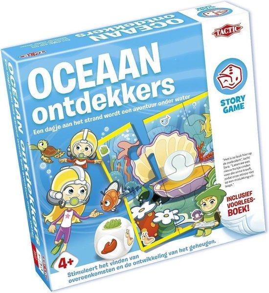 Thumbnail van een extra afbeelding van het spel Story Game - Oceaan Ontdekkers