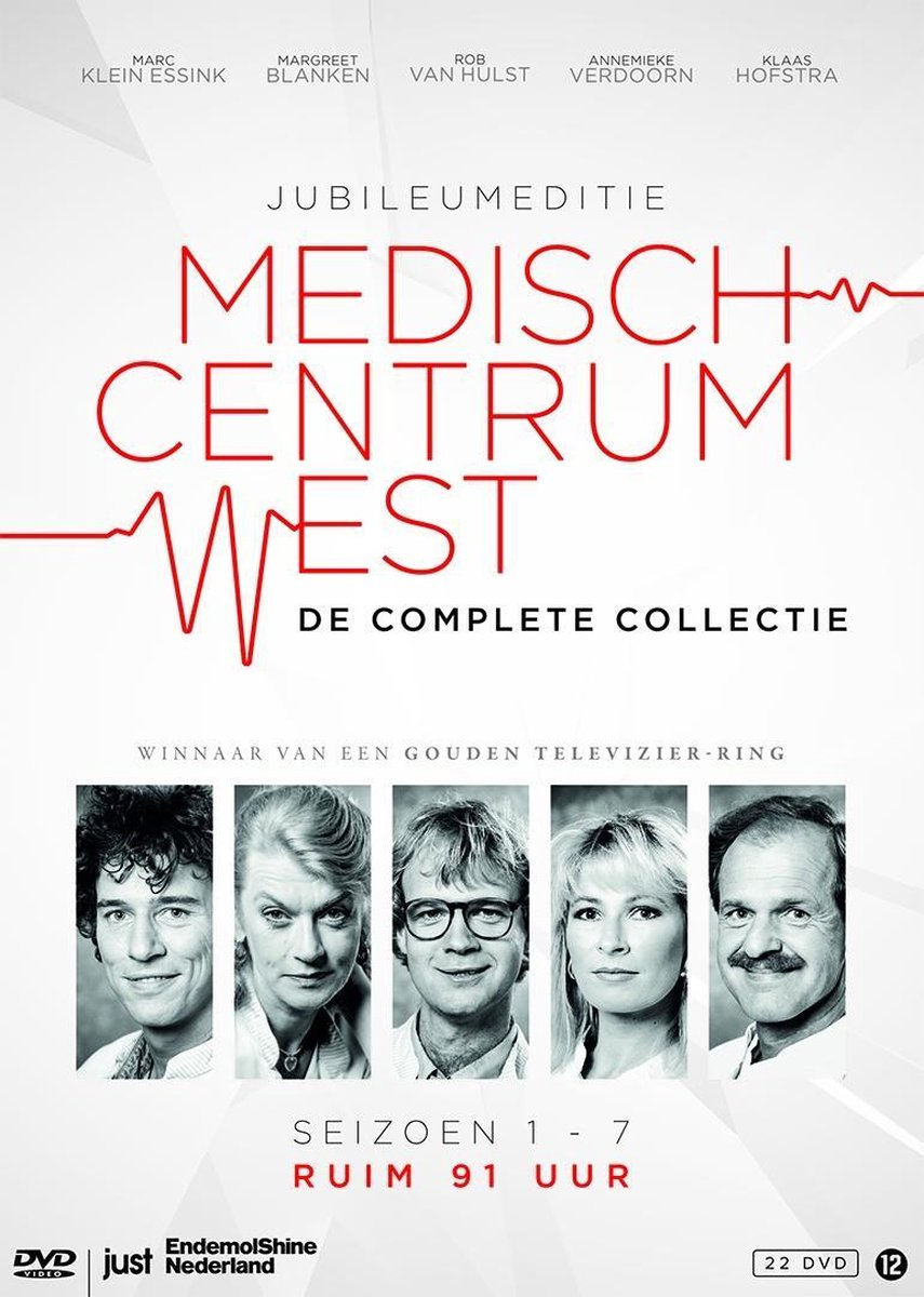 Medisch Centrum West - Complete Collectie (Seizoen 1 t/m 7) - 22 Dvd Monsterbox