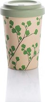 """Chic Mic Bamboo Coffee To Go Beker """"Ginkgo"""""""
