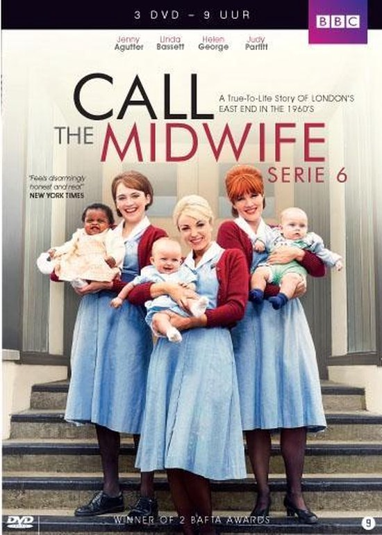 Call The Midwife - Seizoen 6 - 3 Dvd Stackpack