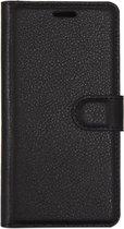 Mobigear Litchi Wallet Book Case Zwart Samsung Galaxy S8 Plus