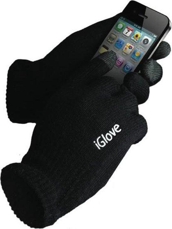iGlove Touchscreen handschoenen - Zwart