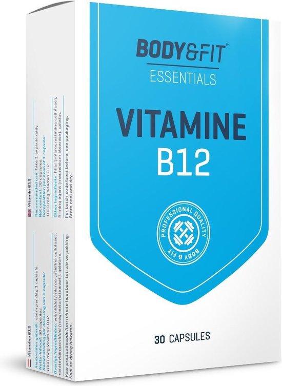 Body & Fit Vitamine B12 - 1000 mcg - 30 capsules