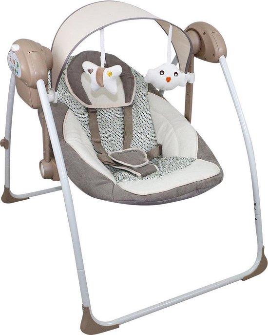 Baby Swing - Babyschommel FreeOn Beige-Bruin - FreeON