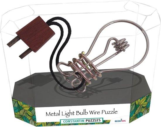 Afbeelding van het spel Wire Puzzle: Metal Light Bulb (Breinbreker)