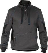 Dassy Stellar sweatshirt D-FX Grijs/Zwart maat M
