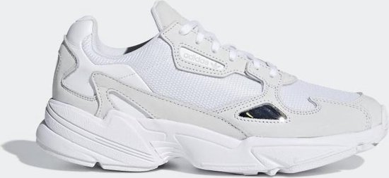 adidas Falcon Dames Sneakers - Ftwr White/Ftwr White/Crystal White - Maat 36