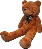 Teddybeer zacht pluche XXL bruin 100 cm
