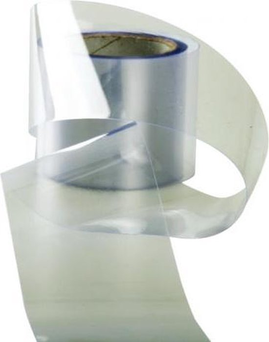 Acetaat folie / strips, 5cm breed - rol 10m - Decora
