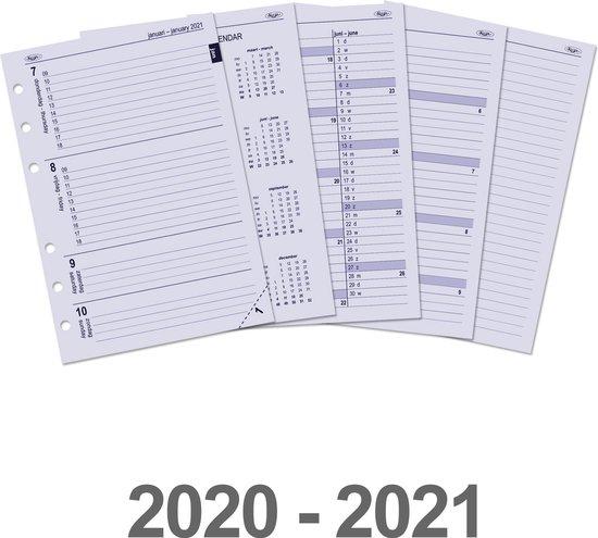 Afbeelding van Kalpa 6207-20-21 A5 organizer week agenda EN-NL 2020-2021