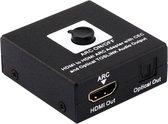 Coretek HDMI ARC converter - HDMI 1.4 (Full HD) / zwart