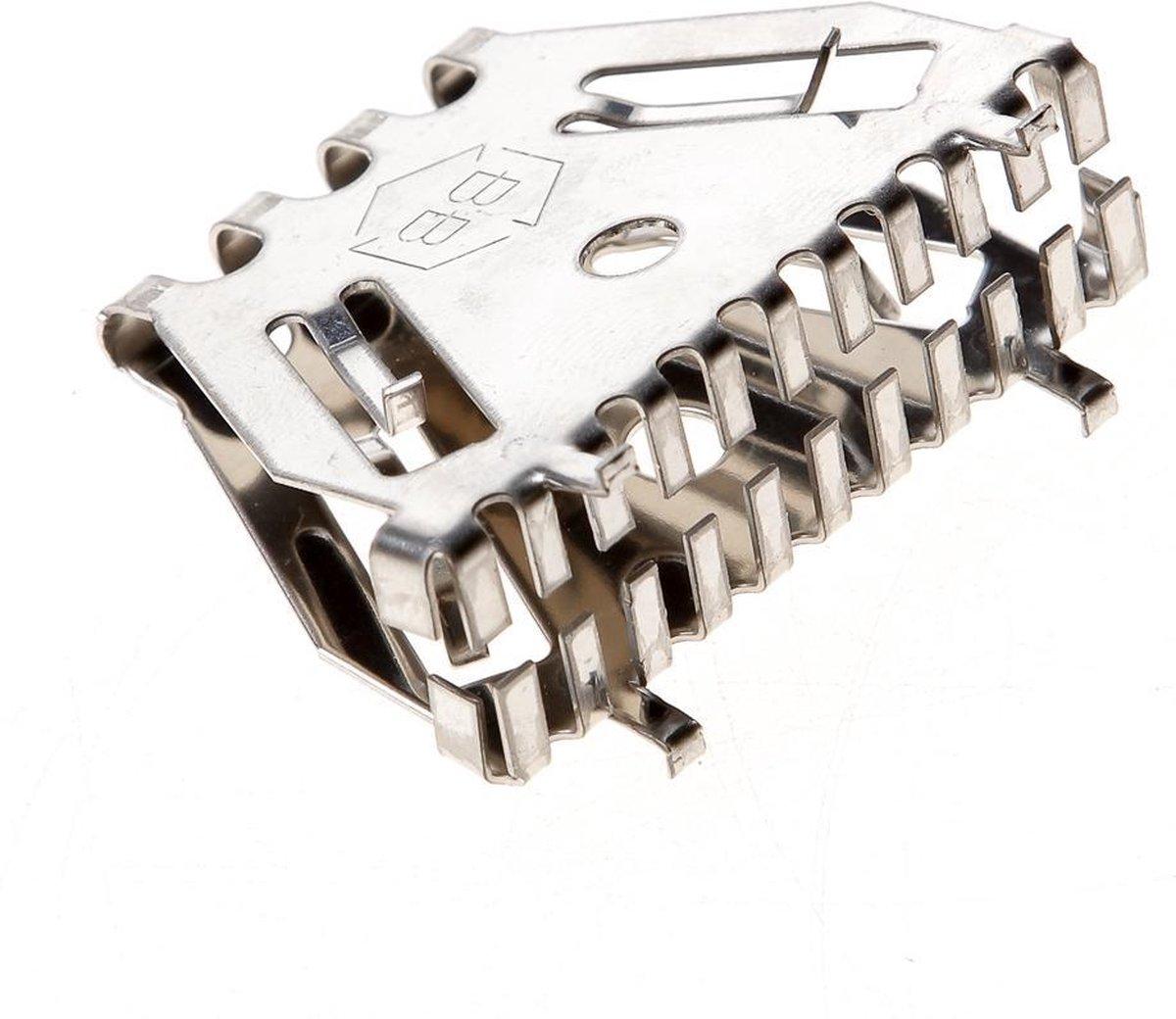 Bijenbekje Stootvoegroosters RVS 50mm