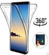 Ntech Samsung Galaxy S10+ Dual Hoesje ( Voor en Achter) Transparant