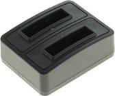 Huismerk Duo oplader voor 2 camera accu's Kodak KLIC-7006