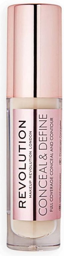 Makeup Revolution – (Conceal & Define Concealer) 3.4 ml odstín C2 –