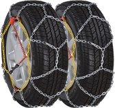 Sneeuwkettingen Auto - 12mm - 2 stuks - KN100 205/70-15 205/75-15 215/65-15 195/80-15