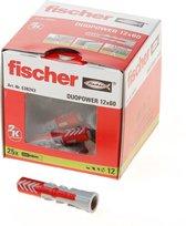 Fischer DUOPOWER plug 12x60 25 st