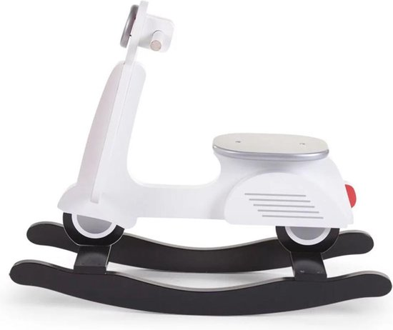 Childhome Hobbelfiguur Italiaanse Scooter 69 Cm Wit