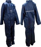 Ralka Regenpak - Kinderen - Unisex - Maat 164 - Marine