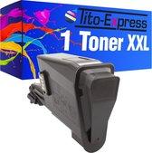 PlatinumSerie® toner XXL black alternatief voor Kyocera Mita TK-1115 1600 pagina 's