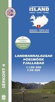 Island Serkort 04 Landmannalaugar - Pors