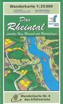 Eifelverein e.V. Wandelkaart Das Rheintal 1:25.000 (8)